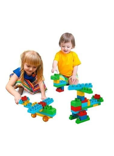 Birlik Oyuncak Birlik Oyuncak Babycim Soft Bloklar 40 Parça Lego Çocuk Oyun Seti Renkli
